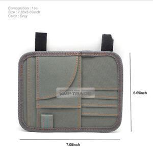 Universal Sun Visor Wallet Card Pen Pocket Organizer Bag Pouch for All Vehicle