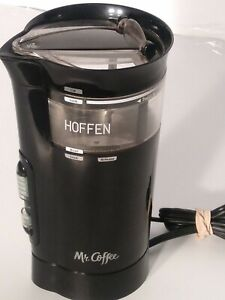MR. COFFEE IDS77 Coffee Mill Grinder Black, 3 Precision Grind Settings Tested