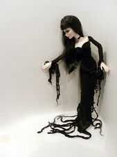 EVANGELINE GHASTLY FANTASY ZOMBIE MORTICIA DRESS GOWN OUTFIT FASHION