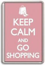 Keep calm and go shopping Fridge Magnet