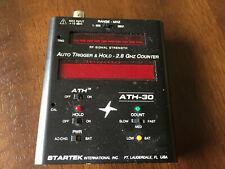 Startek Ath-30 Frequency Counter Ham radio Rf Bug Locator No Battery ! Untested