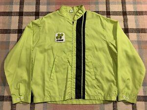 Vintage Steiger Tractor Racing Style Jacket Louisville Sportswear XL USA!!!