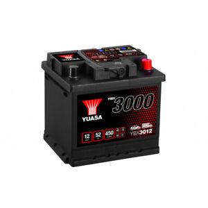 Batterie Yuasa SMF YBX3012 12V 52ah 450A