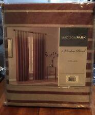 1-Madison Park  Rod-Pocket Window Curtain Panel 50inX84in NEW