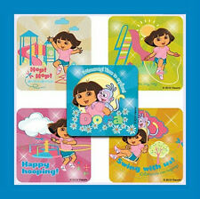 15 Dora the Explorer & Boots Glitter Stickers Party Favors