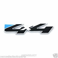 NEW OEM Ford 4x4 4WD Decal Emblem Nameplate Badge - Black / Chrome - Explorer 5""