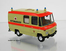 Brekina 36900 Mercedes Benz L 508 Rettungswagen RTW DRK Starmada Scale 1 87 NEU