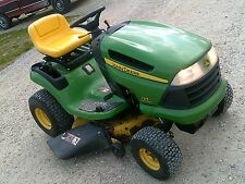 "John Deere 125 automatic Riding mower JD tractor Foot Hydrostat 20 hp 42""cut"