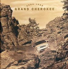 2004 Jeep Grand Cherokee 32-page Car Sales Brochure Catalog - Limited  Overland