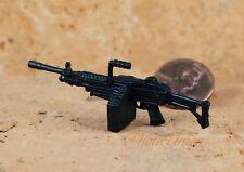 GI Joe 1:18 Action Figur 3.75 US Army Militär M249 Light Machine Gun LMG G19_F