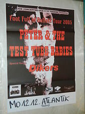 PETER AND THE TEST TUBE BABIES / Original Concert Poster  - 60 x 83