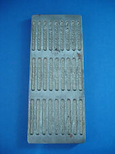 VINTAGE INDUSTRIAL CANDY MOLD - 27 COUNT MINI CIGARETTES - BROOKLYN PLANT