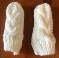 The Children's Place Crochet Baby Mittens White Sparkle 6-12 Months Sparkle