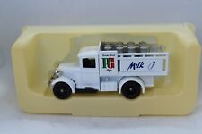 Lledo Days Gone Model A Ford Stake Truck with P G Tips - Milk Decals