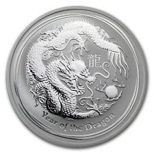2012 Australia 1/2 oz Silver Year of the Dragon BU