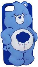 iPhone 6 7 8 + X Cute 3D Cartoon Rainbow Care Bear Character Soft Silicone Case