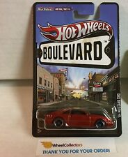 '84 Mustang SVO * RED * Hot Wheels Boulevard * G14