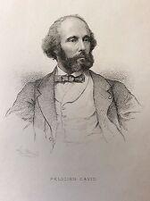 Félicien César David (1810-1876) compositeur Musique France