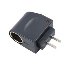 AC To DC Car Cigarette Lighter Socket 100-240V Power Adapter Converter New