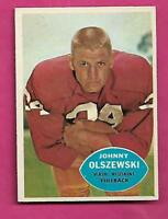 1960 TOPPS # 125 REDSKINS JOHNNY OLSZEWSKI  NRMT CARD (INV# C0522)