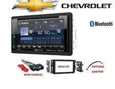 2006-2015 CHEVY SILVERADO TAHOE BLUETOOTH  SIRIUS XM READY Car Stereo DVD LCD