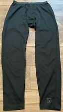 REI mts PolarTEC Black Lightweight Base Layer Long John Pants mens Medium MD