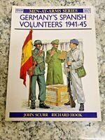 BOOK Osprey Men-at-Arms MAA #103 Germany's Spanish Volunteers 1941- 45