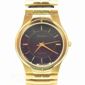 Vintage Women's Gruen Quartz Watch Wristwatch