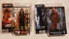 "MCFARLANE TERMINATOR 2 & 3 TERMINATRIX & SARAH CONNOR 6"" FIGURES...NEW ON CARDS!"