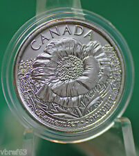 2015 Canada ONE Special Non-Coloured Poppy Quarter taken from roll