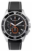Gant Seabrook W70544 Mens Watch Chronograph Black Leather