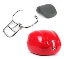 Red Vespa Primavera Top Case Kit