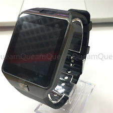 Hommes Smart Watch Digital DZ09 Bracelet Bluetooth sport pour téléphone portable Noir