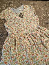 new matilda jane blue and pink floral dress size 12