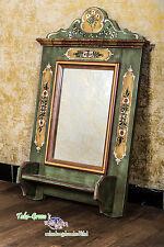 Voglauer Anno 1800 Verde Viejo Espejo de Pared Casa Campo Estilo Antiguo