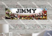 Personalized/Customized San Francisco 49ers Name Poster Wall Decoration Banner