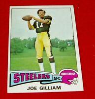 1975  Football  JOE GILLIAM TOPPS CARD # 182 NM/M