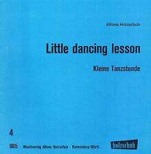 LITTLE DANCING LESSON- pour tous genres d'orgues electroniques