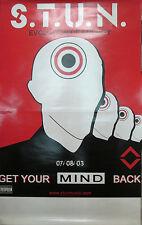 STUN Evolution of Energy, orig Geffen promotional poster, 2003, 11x17, VG+