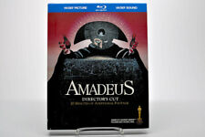 Amadeus (Blu-ray Disc + Cd, 2009, 2-Disc Set) DigiBook