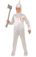 Boys Tin Man The Wizard of Oz Fairy Tale Film World Book Day Fancy Dress Costume