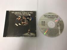 New York - Original Soundtrack LIZA  Minnelli ROBERT De Niro CD DIDX 316