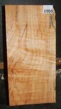 FIGURED Maple Wood 11006 One Beautiful Turning Blank Lathe Lumber 12.25X6X6