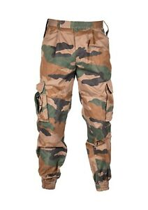 Genuine Indian Army Woodland Camo Trousers Pants Camouflage Military Surplus