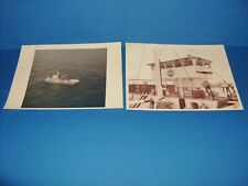 NASA 1964 (2) RED SERIAL NUMBER PHOTOS MSC (NASA RETRIEVER) UNCOMMON