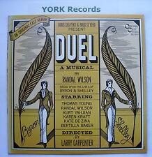 DUEL - Original Cast Recording - Excellent Con LP Record Original Cast OC 7917