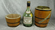 Hennessey VSOP Wood Barrel and Bottle Vintage Bar Display