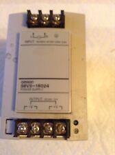 Omron S8VS-18024 Power Supply 24VDC 7.5A 100-240V 50/60HZ