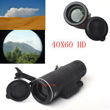 40x60 HD Optical Focus Monocular Telescope For Hunting Camping Hiking 1000M View