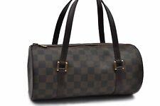 Authentic Louis Vuitton Damier Papillon 26 Hand Bag LV 88305
